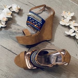 Qupid Shoes - Brand new Qupid wedges